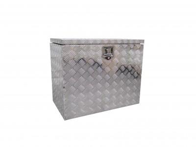 Aluminium Riffelblech Kiste, Deichselbox