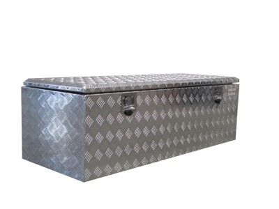 Aluminium Riffelblech Kiste